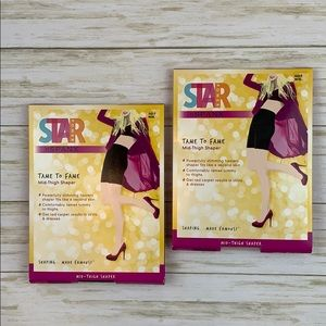 Star Power by Spanx Tame to Fame Shaper -2 Pairs